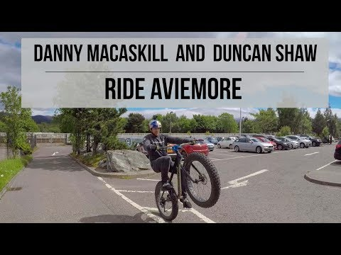 Danny MacAskill and Duncan Shaw Ride Aviemore