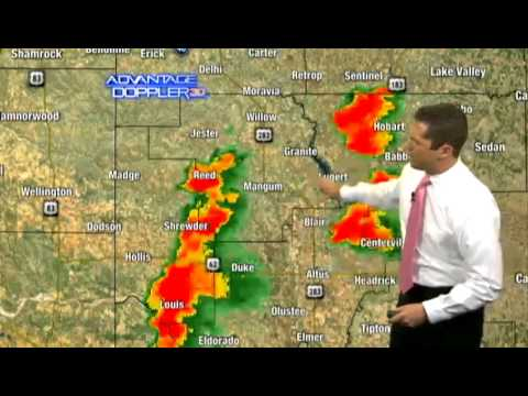 Damon's 5 p.m. severe weather forecast