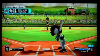 Little League World Series Baseball 2008 Nintendo Wii Gameplay