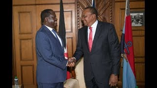 FLOPPED HANDSHAKE: History repeating itself in Kenya as two families merge political troopers