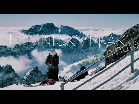 LOMNICKY PEAK IN A MINUTE | HIGH TATRAS | SLOVAKIA