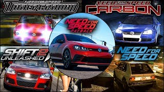 VW Golf GTI/R32 Evolution in NFS Games  - 1080pHD