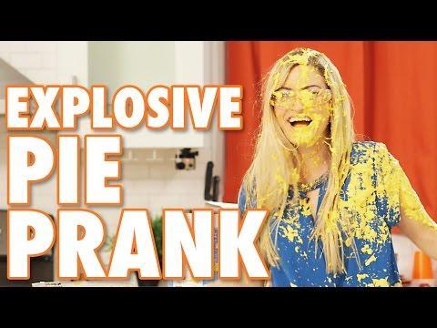 EXPLOSIVE PIE PRANK ft FouseyTUBE