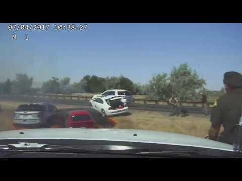Sgt Neff Dash Camera Footage  July 4 UHP Shooting