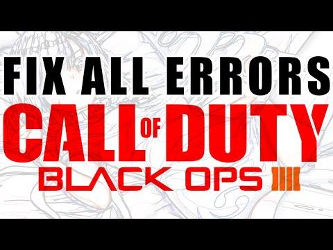 Black Ops 4 Error Code Fixes Jaded Mamba/Lost Ant/Fatal error/Sky Wolf