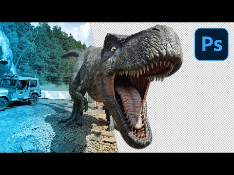 Freistellen In Photoshop CC - Objekt Ausschneiden & Hintergrund Entfernen - Tutorial (deutsch)