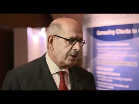 AIC 2012 Interview: Dr. Mohamed ElBaradei, former Head of the IAEA, Egyptian Opposition Leader