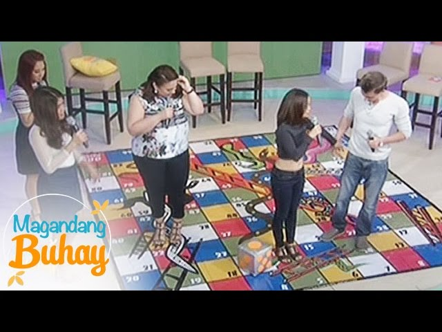 Magandang Buhay: Giant Snakes and Ladders with Karen and Ian
