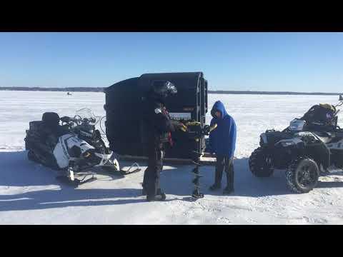 Ice Report Cooks Bay, Lake Simcoe, Jan 17,2020