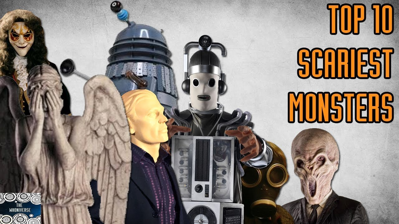 Top 10 Scariest Doctor Who Monsters   Halloween Special