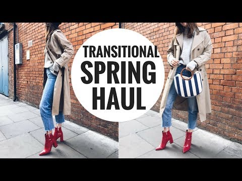 HUGE TRANSITIONAL SPRING HAUL 🌻 MANGO, NEW LOOK, SHEIN, & MORE | CIARA O' DOHERTY