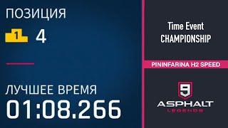 CHAMPIONSHIP | ANCIENT RUINS | 1:08:266 | PININFARINA H2 SPEED