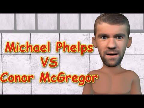 MMA Comedy Animations: Michael Phelps VS Conor McGregor