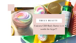 Truly Unicorn CBD Body Butter HONEST REVIEW!!
