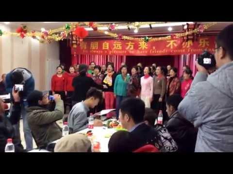 Local Beijing Community Singing