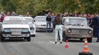 Автогонки ВАЗ 99 против Копейки