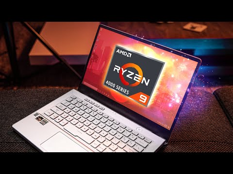 AMD DID IT!  This Ryzen 9 Notebook Is AMAZING - Zephyrus G14 Review