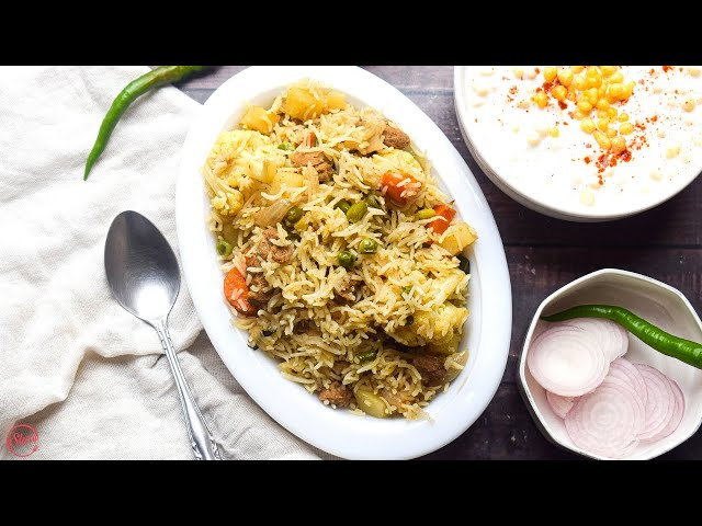 The Best Vegetable Pulao Recipe   One Pot Vegetable Pulao