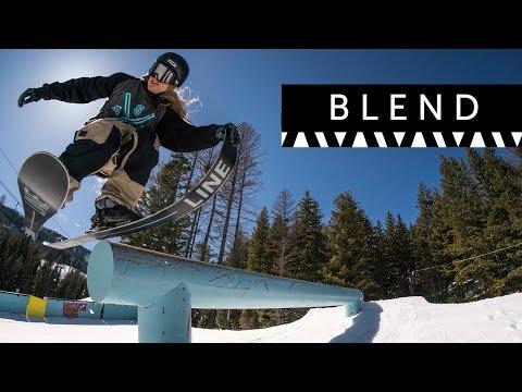 LINE 2018/2019 Blend Skis: The Original Oversized Freestyle Park Ski
