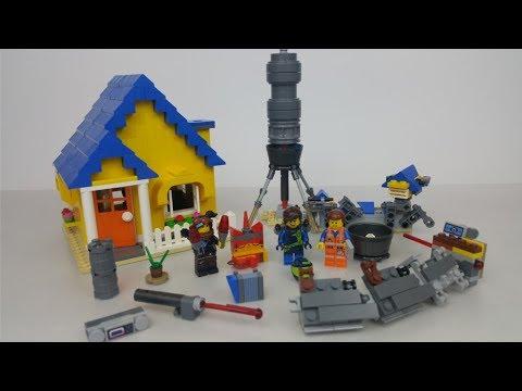 The Lego Movie 2 70831 Dom Emmeta Lego Przygoda 2 Rafi Bricks