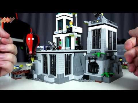Обзор Lego City Остров-Тюрьма - 60130 - Новинки Лего Сити в продаже на TOY RU