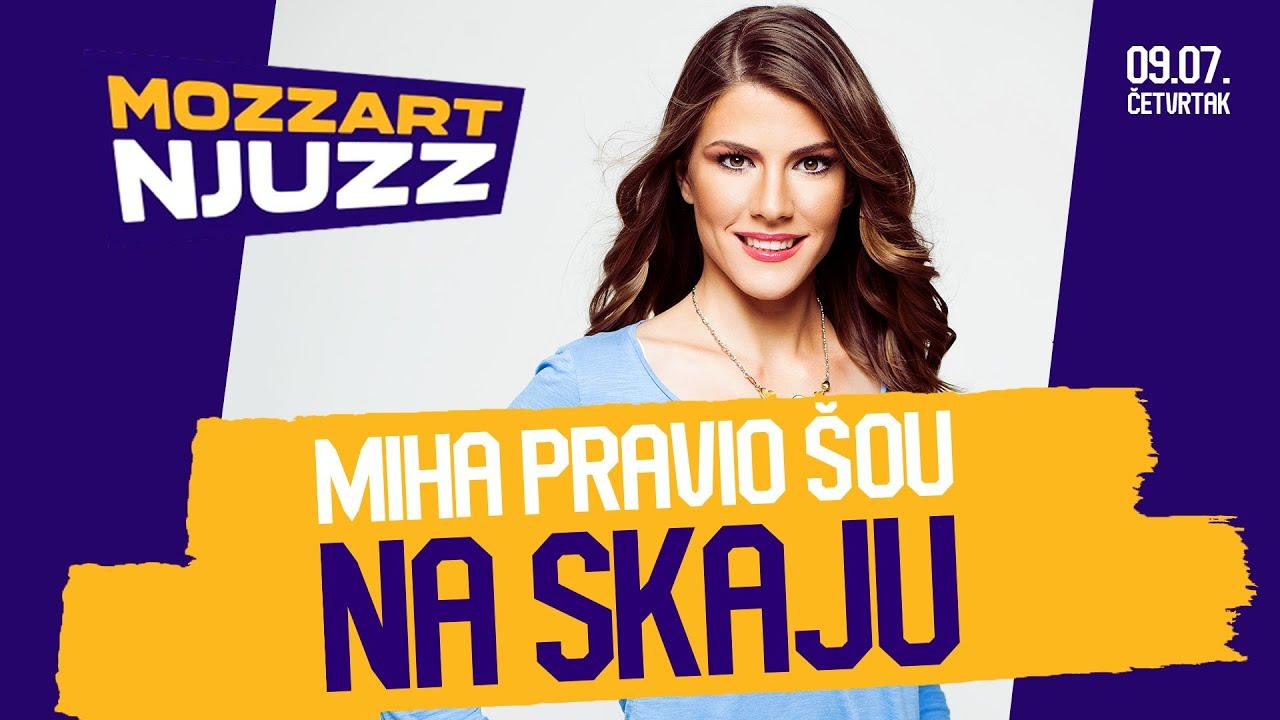 MOZZART NJUZZ - #25: Miha pravio šou na Skaju, Luka Jović iznervirao Real