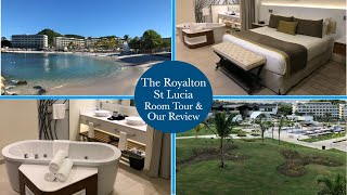Royalton St Lucia Room Tour Our Review of the hotel From our Stay in December 2017