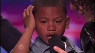 Скачать 7 Year Old Rap Logic Ballin By Logic On America Got Talent Shocks Judges And Cry S