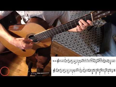 Fernando Sor Op 60 No 10 Classical Guitar Lesson + Free Music Link