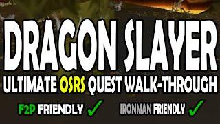 ULTIMATE Dragon Slayer Quest Walk-Through Guide [F2P] [Ironman]