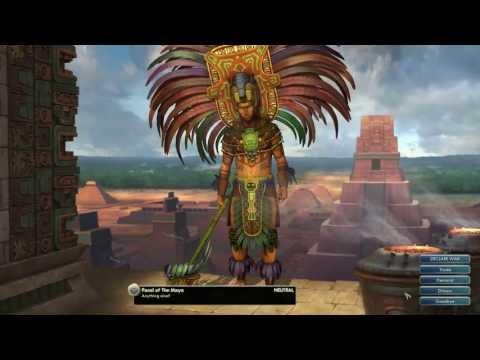 Civilization V Leader | Pacal of the Maya