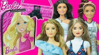 YENİ Barbie Fashionistas Bebekleri ve Barbie Çantaları | NEW! Toy Dolls Bags | EvcilikTV