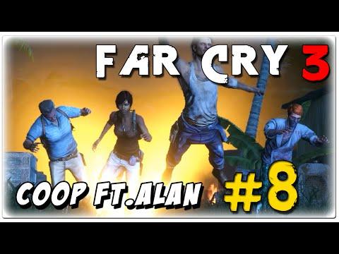 FAR CRY 3 - Modo Coop Ft.Alan #8 : Desafio da Granada e muita C4
