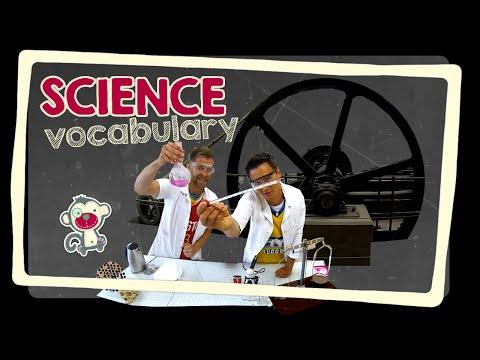 Science - English vocabulary