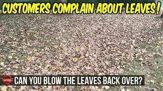 When Customers Complain About Leaves - Funny Customer Request