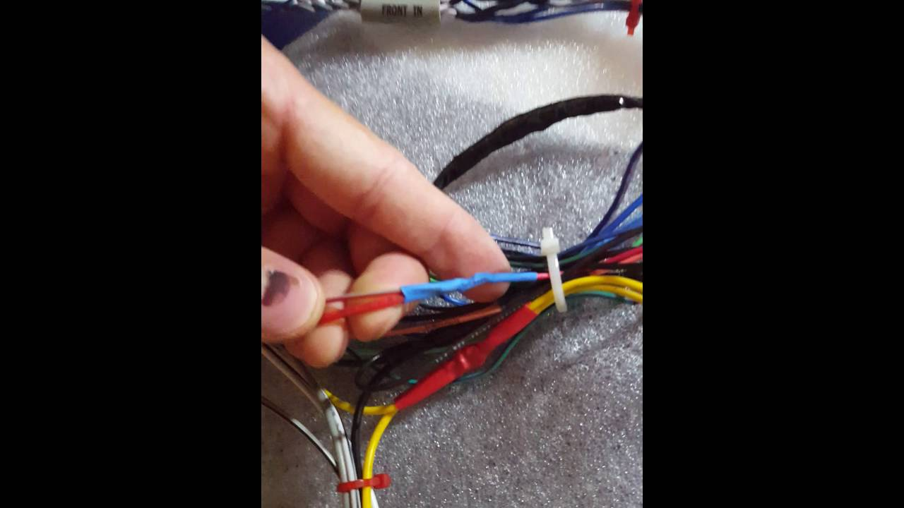 Wrx 2016 New Headunit Wire Harness Setup