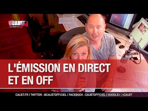 L'émission en direct et en off -...