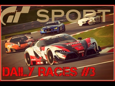 Gran turismo sport Daily races #3 Road to highest rank-From the back of the grid