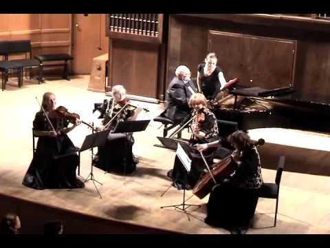 Квартет им  Прокофьева Шуман Р  Фортепианный квинтет ми-бемоль мажор соч №44 Allegro Brillante