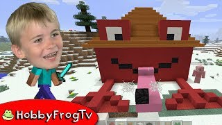minecraft-hobbyfrog-39-s-house-build-hobbyfrogtv