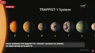 Випуск новин за 22:00: Революційне відкриття NASA