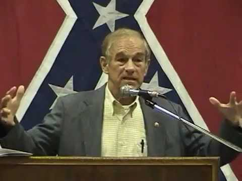 Image result for Ron Paul with Confederate flag