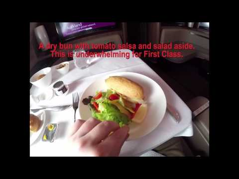 Flying from Bangkok to Cairo on Qatar Airways First Class A380-800