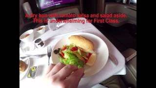 flying from bangkok to cairo on qatar airways first class a380 800