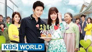 Video 오늘부터 사랑해 /I Love You From Today Korean Drama 2015 download MP3, 3GP, MP4, WEBM, AVI, FLV April 2018