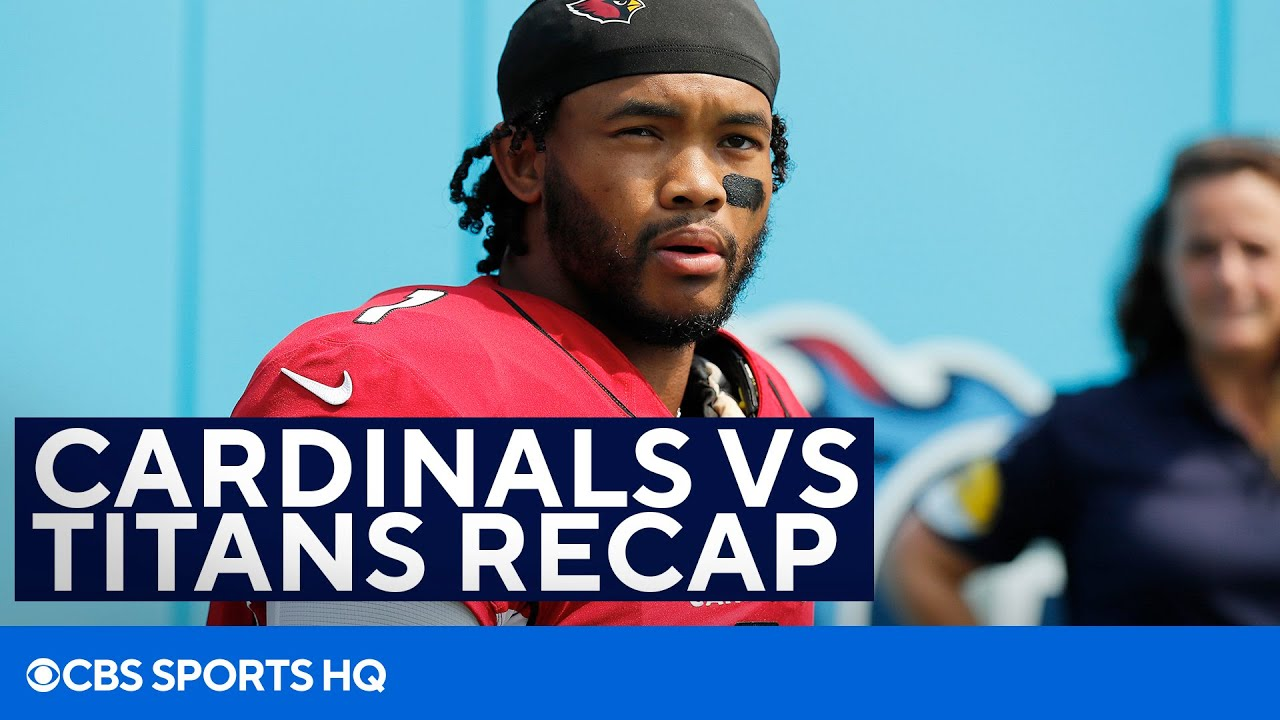 Titans-Cardinals: Live Updates, Analysis