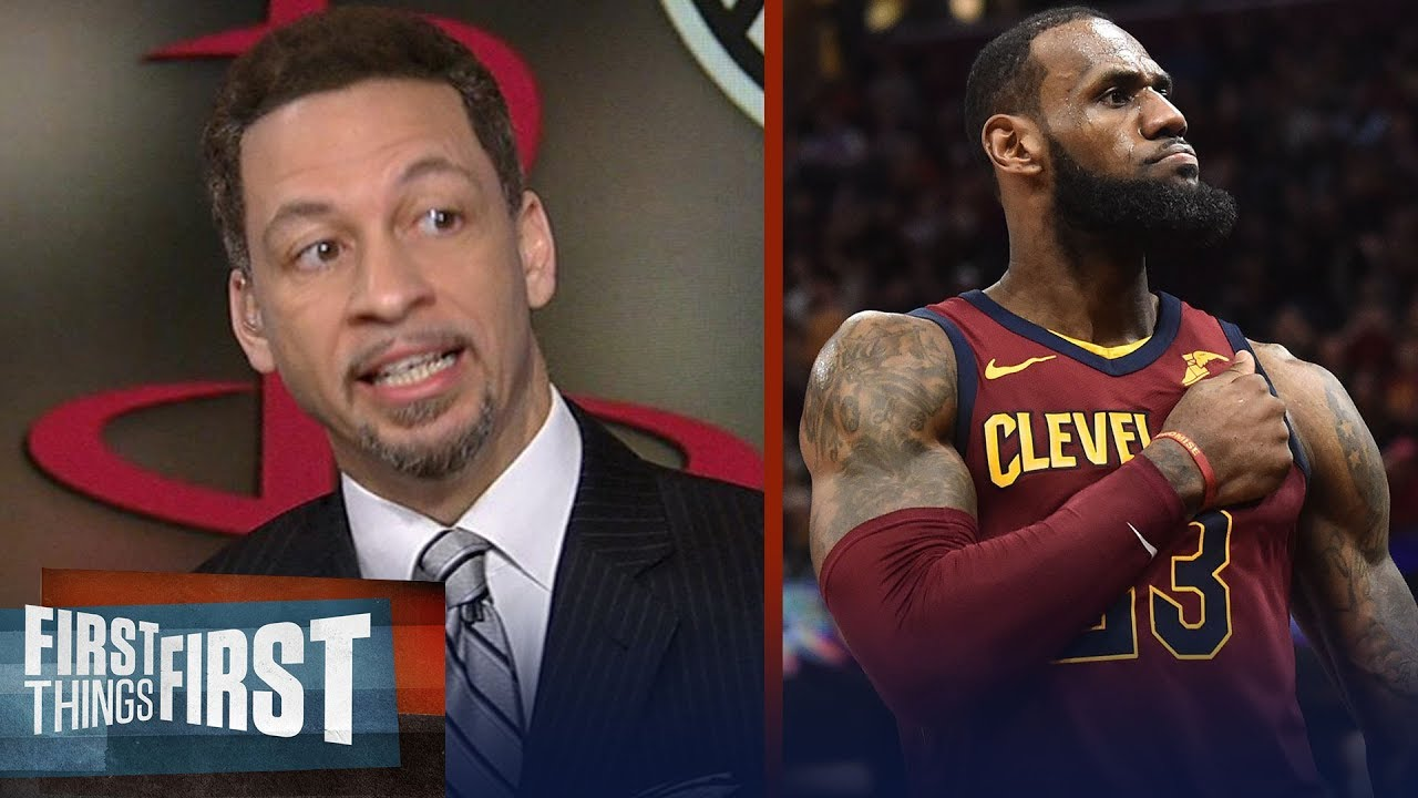 3a936efe Chris Broussard on LeBron James joining Gregg Popovich and Kawhi on the  Spurs | FIRST THINGS FIRST