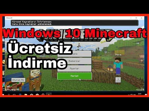 Minecraft Windows 10 Sürümü Ücretsiz İndirme | %100 Kanıtlı