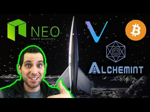 NEO Surges! Bitcoin Bullrun? VeChain | Litecoin | Alchemint | FunFair $BTC $VEN $FUN $LTC $BLZ