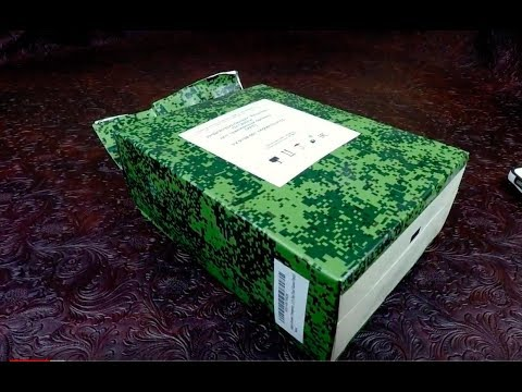 MRE Review 2016 Russian Ration Customs Personnel 24h Ration